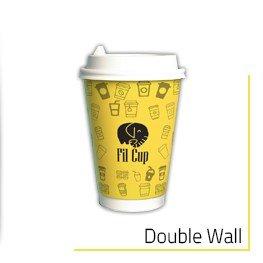 Double Wall Karton Bardak