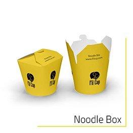 Özel Baskılı Noodle Box